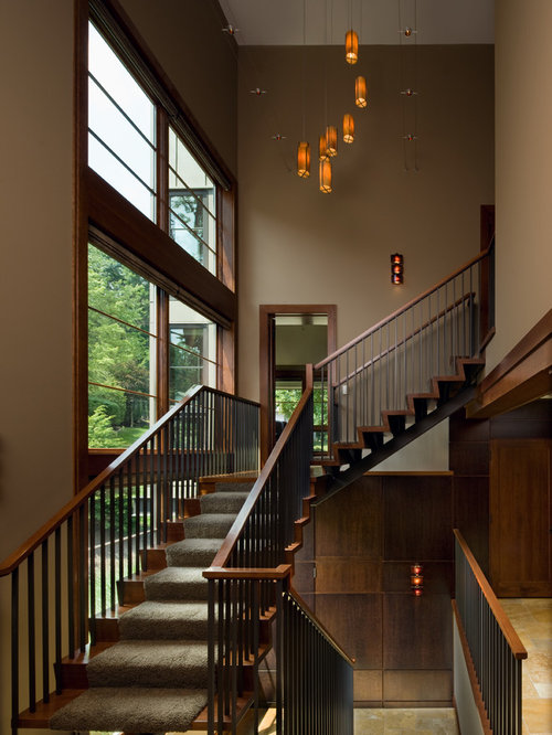 Carpet Stair Runner Home Design Ideas Pictures Remodel
