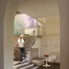 Contemporary Staircase by Hugh Jefferson Randolph Architects