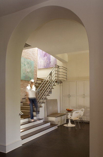modern staircase by Hugh Jefferson Randolph Architects