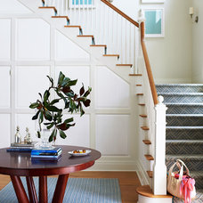 Traditional Staircase by Andrew Howard Interior Design