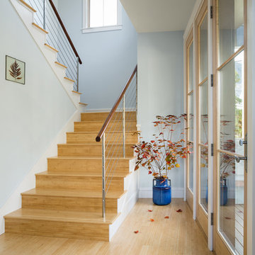Bright Contempoary Stairhall