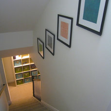 Transitional Staircase by Your Favorite Room By Cathy Zaeske