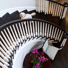 Traditional Staircase by Erika Bierman Photography