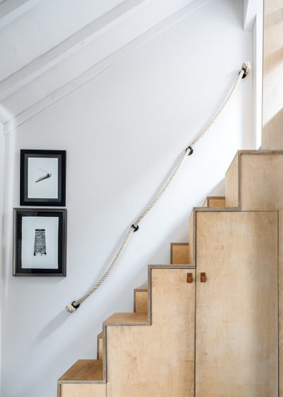 Eclectic Staircase by Angel O'Donnell