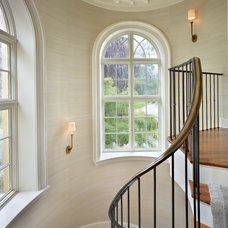 Traditional Staircase by Stuart Silk Architects | Limited PS