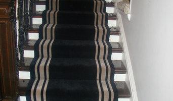 bronti carpet on stairway