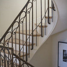 Traditional Staircase by Remick Associates Architects + Master Builders
