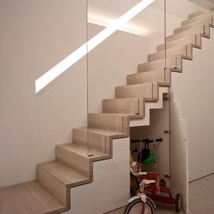 Modern inredning av en trappa