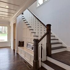 Traditional Staircase by Blake Shaw Homes, Inc