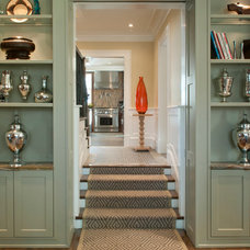 Transitional Staircase by Dietz & Associates Inc.