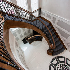 Traditional Staircase by Home & Stone