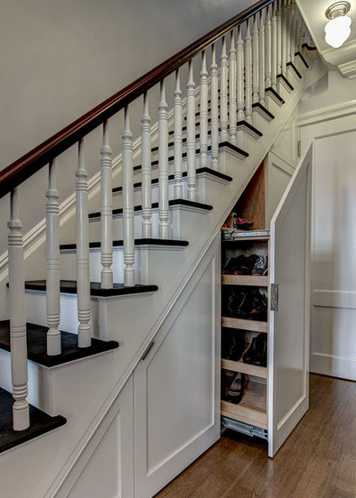 American Traditional Staircase by Ben Herzog