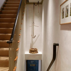 Transitional Staircase by Rafe Churchill: Traditional Houses
