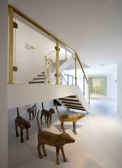 Contemporary Staircase by BROWN DAVIS ARCHITECTURE & INTERIORS