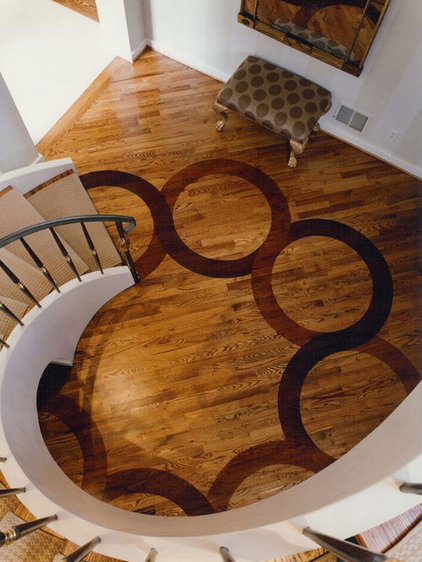 Traditional Staircase by BROWN DAVIS INTERIORS, INC.