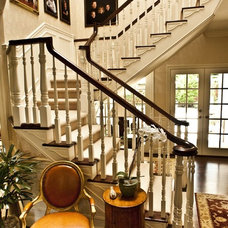 Traditional Staircase by Brownhouse Design, Los Altos, CA