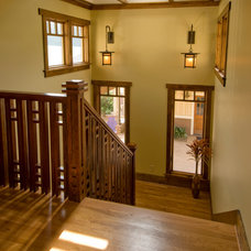 Craftsman Staircase by Trey Cole Design & Construction