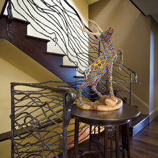 Contemporary Staircase by Winder Gibson Architects