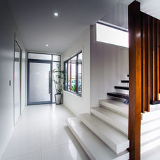 Contemporary Staircase by Tomas O'Malley Architect