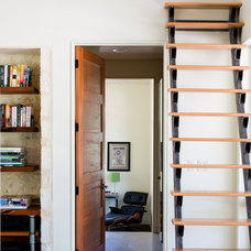 Contemporary Staircase by Craig McMahon Architects, Inc.
