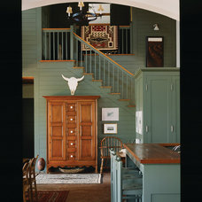 Farmhouse Staircase by Michael G Imber, Architects