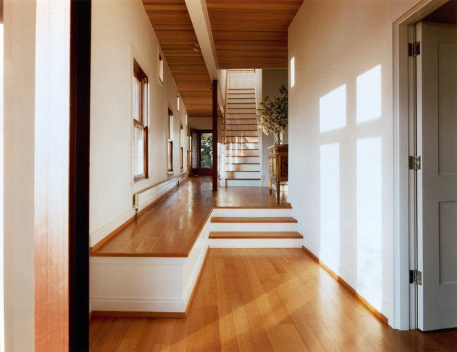 Contemporary Staircase by Buttrick Wong Architects