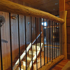 Staircase by Alderman Design Build