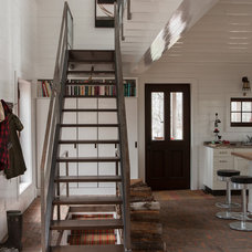 Rustic Staircase by Jean Longpré