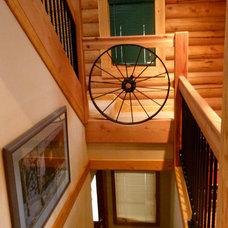 Traditional Staircase by Nicholas Modroo Designs, LLC
