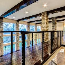 Modern Staircase by RealTourCast | Tim Furlong Jr.