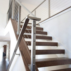 Contemporary Staircase by Anna Berglin Design