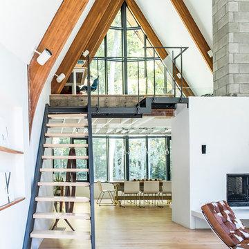 Caledon Mountain Home - Industrial Farmhouse