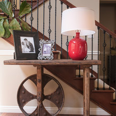 Transitional Staircase by Lulu Designs