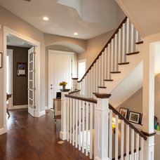 Traditional Staircase by Cline Design Group