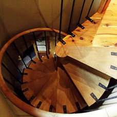 Traditional Staircase by Max Fulbright Designs