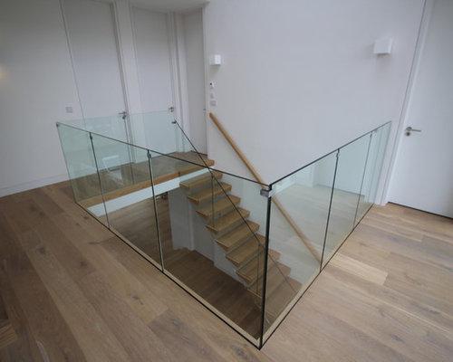 Photos et idées déco d\'escaliers sans contremarche modernes Dublin