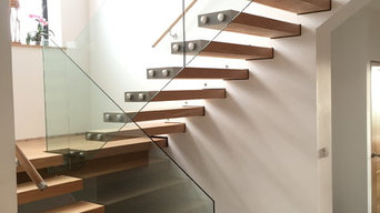cantivered stairs