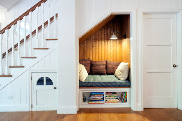 Farmhouse Staircase by JWT Associates