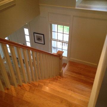 Cape Cod Birch Floors & Stairs