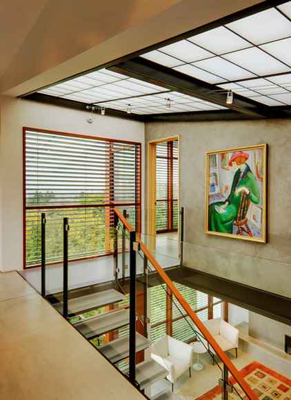 Modern Staircase by Balance Associates Architects