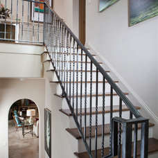Tropical Staircase by London Bay Homes