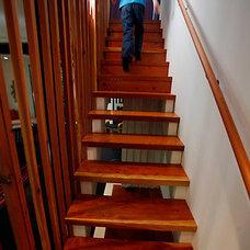 Modern Staircase by R.A.D. Design-Build