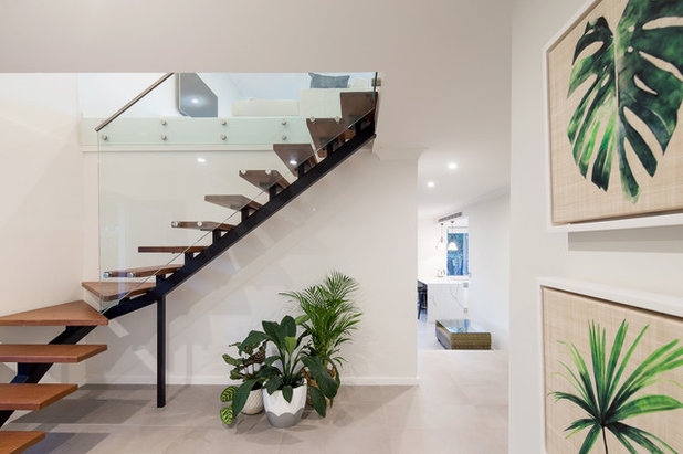 Modern Staircase by Ambient Constructions