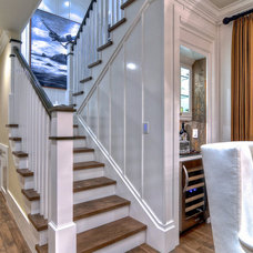Traditional Staircase by Details a Design Firm