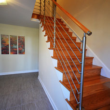 Modern Staircase by MW Construction Services, LLC