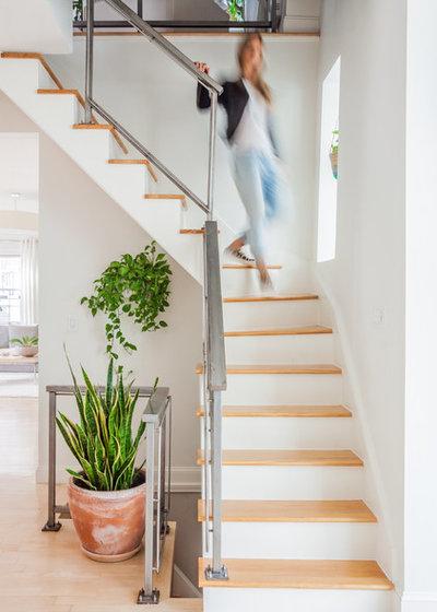 Современная классика Лестница by Melissa Miranda Interior Design