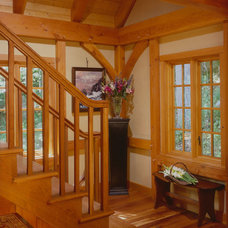 Traditional Staircase by Timberpeg