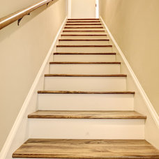 Traditional Staircase by The Pugh Group New Home Division