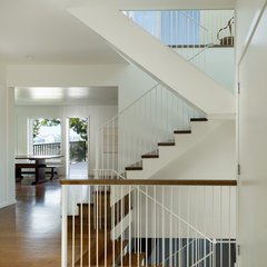 modern staircase by Cary Bernstein Architect