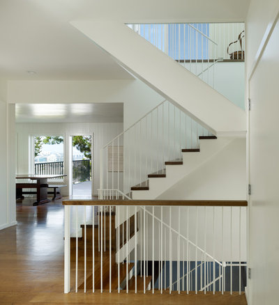 Transitional Staircase by Cary Bernstein Architect